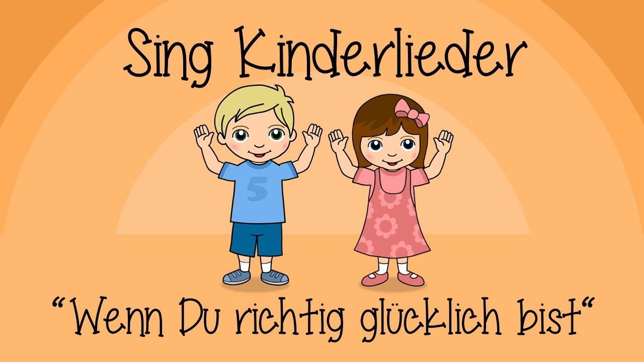 童年唱过的第一首观众互动歌——周末了来听听德语版幸福拍手歌吧~